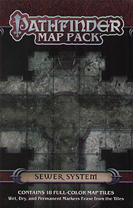 Spirit Games (Est. 1984) - Supplying role playing games (RPG), wargames rules, miniatures and scenery, new and traditional board and card games for the last 20 years sells Pathfinder Map Pack: Sewer System