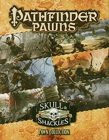Spirit Games (Est. 1984) - Supplying role playing games (RPG), wargames rules, miniatures and scenery, new and traditional board and card games for the last 20 years sells Pathfinder Pawns: Skull and Shackles Pawn Collection
