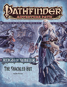 Spirit Games (Est. 1984) - Supplying role playing games (RPG), wargames rules, miniatures and scenery, new and traditional board and card games for the last 20 years sells Adventure Path 068: Reign of Winter - The Shackled Hut