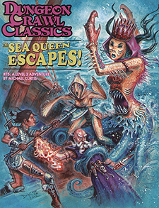 Spirit Games (Est. 1984) - Supplying role playing games (RPG), wargames rules, miniatures and scenery, new and traditional board and card games for the last 20 years sells Dungeon Crawl Classics 75: The Sea Queen Escapes!