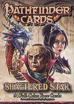 Spirit Games (Est. 1984) - Supplying role playing games (RPG), wargames rules, miniatures and scenery, new and traditional board and card games for the last 20 years sells Pathfinder Face Cards: Shattered Star