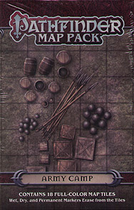 Spirit Games (Est. 1984) - Supplying role playing games (RPG), wargames rules, miniatures and scenery, new and traditional board and card games for the last 20 years sells Pathfinder Map Pack: Army Camp