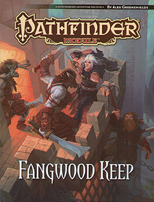 Spirit Games (Est. 1984) - Supplying role playing games (RPG), wargames rules, miniatures and scenery, new and traditional board and card games for the last 20 years sells Pathfinder Module: Fangwood Keep
