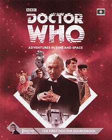 Spirit Games (Est. 1984) - Supplying role playing games (RPG), wargames rules, miniatures and scenery, new and traditional board and card games for the last 20 years sells Doctor Who: 1st Doctor Sourcebook