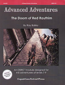 Spirit Games (Est. 1984) - Supplying role playing games (RPG), wargames rules, miniatures and scenery, new and traditional board and card games for the last 20 years sells Advanced Adventures AA#29: The Doom of Red Rauthim