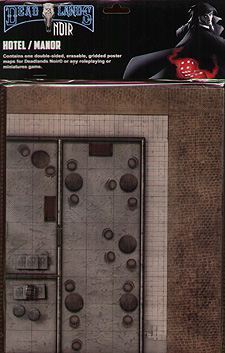 Spirit Games (Est. 1984) - Supplying role playing games (RPG), wargames rules, miniatures and scenery, new and traditional board and card games for the last 20 years sells Deadlands Noir: Hotel/Manor