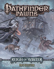 Spirit Games (Est. 1984) - Supplying role playing games (RPG), wargames rules, miniatures and scenery, new and traditional board and card games for the last 20 years sells Pathfinder Pawns: Reign of Winter Pawn Collection
