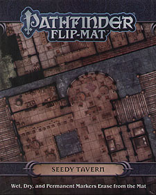 Spirit Games (Est. 1984) - Supplying role playing games (RPG), wargames rules, miniatures and scenery, new and traditional board and card games for the last 20 years sells Pathfinder Flip-Mat: Seedy Tavern