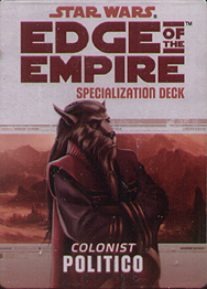 Spirit Games (Est. 1984) - Supplying role playing games (RPG), wargames rules, miniatures and scenery, new and traditional board and card games for the last 20 years sells Colonist: Politico Specialization Deck