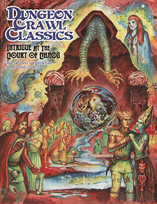 Spirit Games (Est. 1984) - Supplying role playing games (RPG), wargames rules, miniatures and scenery, new and traditional board and card games for the last 20 years sells Dungeon Crawl Classics 80: Intrigue at the Court of Chaos