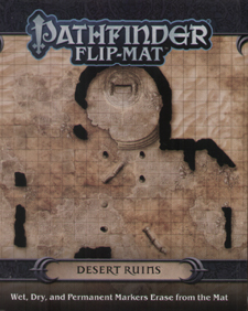 Spirit Games (Est. 1984) - Supplying role playing games (RPG), wargames rules, miniatures and scenery, new and traditional board and card games for the last 20 years sells Pathfinder Flip-Mat: Desert Ruins