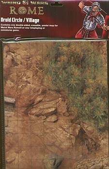 Spirit Games (Est. 1984) - Supplying role playing games (RPG), wargames rules, miniatures and scenery, new and traditional board and card games for the last 20 years sells Weird Wars: Rome - Cruid Circle/Village