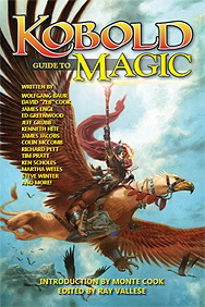 Spirit Games (Est. 1984) - Supplying role playing games (RPG), wargames rules, miniatures and scenery, new and traditional board and card games for the last 20 years sells Kobold Guide To Magic