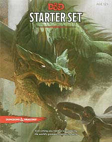 Spirit Games (Est. 1984) - Supplying role playing games (RPG), wargames rules, miniatures and scenery, new and traditional board and card games for the last 20 years sells Dungeons and Dragons: Starter Set (5th Ed)
