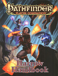 Spirit Games (Est. 1984) - Supplying role playing games (RPG), wargames rules, miniatures and scenery, new and traditional board and card games for the last 20 years sells Pathfinder Player Companion: The Harrow Handbook