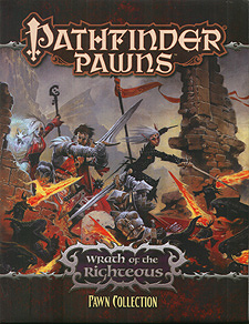 Spirit Games (Est. 1984) - Supplying role playing games (RPG), wargames rules, miniatures and scenery, new and traditional board and card games for the last 20 years sells Pathfinder Pawns: Wrath of the Righteous Pawn Collection