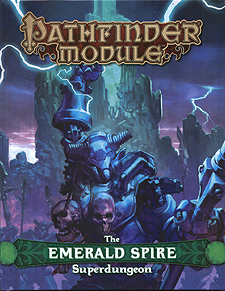 Spirit Games (Est. 1984) - Supplying role playing games (RPG), wargames rules, miniatures and scenery, new and traditional board and card games for the last 20 years sells Pathfinder Module: The Emerald Spire Superdungeon