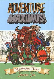Spirit Games (Est. 1984) - Supplying role playing games (RPG), wargames rules, miniatures and scenery, new and traditional board and card games for the last 20 years sells Adventure Maximus! Roleplaying Game Starter Set