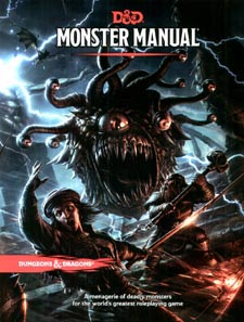 Spirit Games (Est. 1984) - Supplying role playing games (RPG), wargames rules, miniatures and scenery, new and traditional board and card games for the last 20 years sells Dungeons and Dragons: Monster Manual (5th Ed) - MM