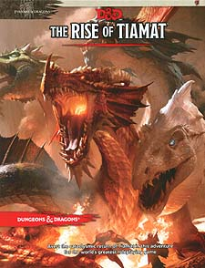 Spirit Games (Est. 1984) - Supplying role playing games (RPG), wargames rules, miniatures and scenery, new and traditional board and card games for the last 20 years sells Dungeons and Dragons: Tyranny of Dragons - The Rise of Tiamat (5th Ed)