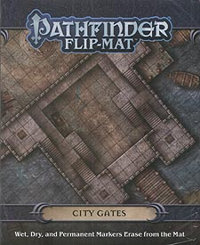 Spirit Games (Est. 1984) - Supplying role playing games (RPG), wargames rules, miniatures and scenery, new and traditional board and card games for the last 20 years sells Pathfinder Flip-Mat: City Gates