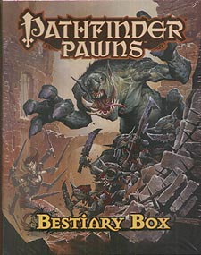 Spirit Games (Est. 1984) - Supplying role playing games (RPG), wargames rules, miniatures and scenery, new and traditional board and card games for the last 20 years sells Pathfinder Pawns Bestiary Box