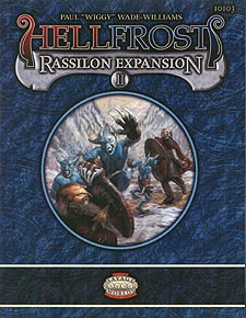 Spirit Games (Est. 1984) - Supplying role playing games (RPG), wargames rules, miniatures and scenery, new and traditional board and card games for the last 20 years sells Hellfrost: Rassilon Expansion II