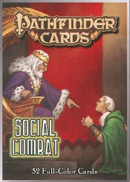 Spirit Games (Est. 1984) - Supplying role playing games (RPG), wargames rules, miniatures and scenery, new and traditional board and card games for the last 20 years sells Pathfinder Add On Deck: Social Combat