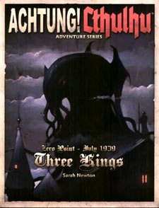 Spirit Games (Est. 1984) - Supplying role playing games (RPG), wargames rules, miniatures and scenery, new and traditional board and card games for the last 20 years sells Achtung! Cthulhu Three Kings Adventure