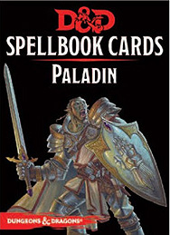 Spirit Games (Est. 1984) - Supplying role playing games (RPG), wargames rules, miniatures and scenery, new and traditional board and card games for the last 20 years sells Spellbook Cards: Paladin
