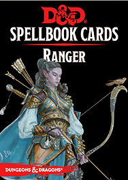 Spirit Games (Est. 1984) - Supplying role playing games (RPG), wargames rules, miniatures and scenery, new and traditional board and card games for the last 20 years sells Spellbook Cards: Ranger