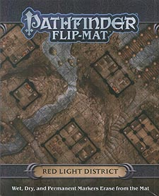 Spirit Games (Est. 1984) - Supplying role playing games (RPG), wargames rules, miniatures and scenery, new and traditional board and card games for the last 20 years sells Pathfinder Flip-Mat: Red Light District