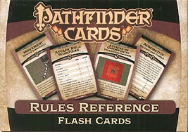 Spirit Games (Est. 1984) - Supplying role playing games (RPG), wargames rules, miniatures and scenery, new and traditional board and card games for the last 20 years sells Pathfinder Cards: Rules Reference Flash Cards