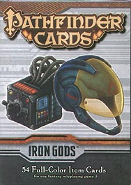 Spirit Games (Est. 1984) - Supplying role playing games (RPG), wargames rules, miniatures and scenery, new and traditional board and card games for the last 20 years sells Pathfinder Item Cards: Iron Gods