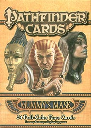 Spirit Games (Est. 1984) - Supplying role playing games (RPG), wargames rules, miniatures and scenery, new and traditional board and card games for the last 20 years sells Pathfinder Campaign Cards: Mummy