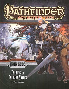 Spirit Games (Est. 1984) - Supplying role playing games (RPG), wargames rules, miniatures and scenery, new and traditional board and card games for the last 20 years sells Adventure Path 089: Iron Gods - Palace of Fallen Stars