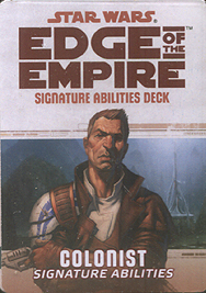 Spirit Games (Est. 1984) - Supplying role playing games (RPG), wargames rules, miniatures and scenery, new and traditional board and card games for the last 20 years sells Colonist: Signature Abilities Deck