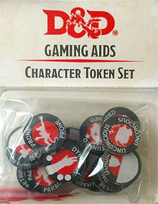 Spirit Games (Est. 1984) - Supplying role playing games (RPG), wargames rules, miniatures and scenery, new and traditional board and card games for the last 20 years sells Dungeons and Dragons: Character Token Set (5th Ed)
