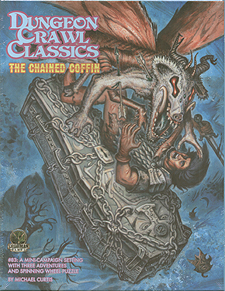 Spirit Games (Est. 1984) - Supplying role playing games (RPG), wargames rules, miniatures and scenery, new and traditional board and card games for the last 20 years sells Dungeon Crawl Classics 83: The Chained Coffin
