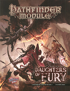 Spirit Games (Est. 1984) - Supplying role playing games (RPG), wargames rules, miniatures and scenery, new and traditional board and card games for the last 20 years sells Pathfinder Module: Daughters of Fury