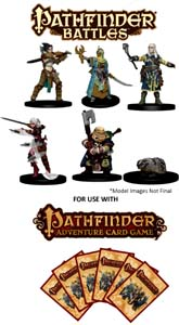 Spirit Games (Est. 1984) - Supplying role playing games (RPG), wargames rules, miniatures and scenery, new and traditional board and card games for the last 20 years sells Pathfinder Battles: Iconic Heroes Set 2