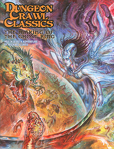 Spirit Games (Est. 1984) - Supplying role playing games (RPG), wargames rules, miniatures and scenery, new and traditional board and card games for the last 20 years sells Dungeon Crawl Classics 85: The Making of the Ghost Ring