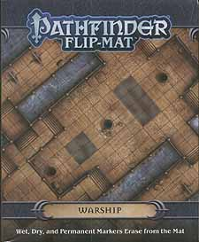 Spirit Games (Est. 1984) - Supplying role playing games (RPG), wargames rules, miniatures and scenery, new and traditional board and card games for the last 20 years sells Pathfinder Flip-Mat: Warship