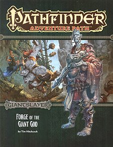 Spirit Games (Est. 1984) - Supplying role playing games (RPG), wargames rules, miniatures and scenery, new and traditional board and card games for the last 20 years sells Adventure Path 093: Giantslayer - Forge of the Giant God