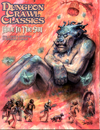 Spirit Games (Est. 1984) - Supplying role playing games (RPG), wargames rules, miniatures and scenery, new and traditional board and card games for the last 20 years sells Dungeon Crawl Classics 86: Hole In The Sky