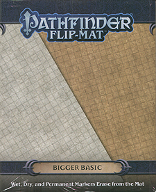 Spirit Games (Est. 1984) - Supplying role playing games (RPG), wargames rules, miniatures and scenery, new and traditional board and card games for the last 20 years sells Pathfinder Flip-Mat: Bigger Basic