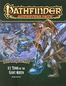 Spirit Games (Est. 1984) - Supplying role playing games (RPG), wargames rules, miniatures and scenery, new and traditional board and card games for the last 20 years sells Adventure Path 094: Giantslayer - Ice Tomb of the Giant Queen