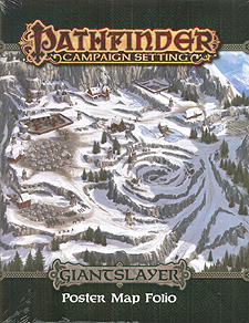 Spirit Games (Est. 1984) - Supplying role playing games (RPG), wargames rules, miniatures and scenery, new and traditional board and card games for the last 20 years sells Pathfinder Campaign Setting: Giantslayer Poster Map Folio