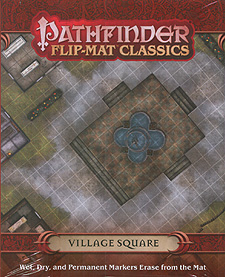 Spirit Games (Est. 1984) - Supplying role playing games (RPG), wargames rules, miniatures and scenery, new and traditional board and card games for the last 20 years sells Pathfinder Flip-Mat Classics: Village Square