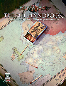 Spirit Games (Est. 1984) - Supplying role playing games (RPG), wargames rules, miniatures and scenery, new and traditional board and card games for the last 20 years sells World War Cthulhu: The SOE Handbook